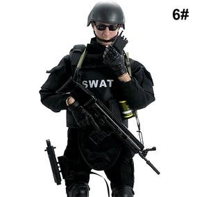 Boneco Importado Tipo Falcon Estrela Gijoe Swat 30cm