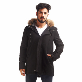 Customs Ba Campera Hombre Parka Tapado Paño Parkas Camperas