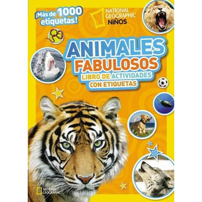 Libro Animales Fabulosos: Libro De Actividades Con Etiquetas