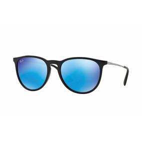 lentes ray ban azul espejo