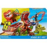 Hot Wheels Pista Ataque Do T Rex Mattel Ffw82 Original