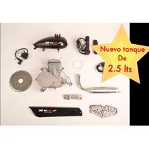 Romf Kit Motor 80cc De Gasolina Para Bicicletas Y Bicimotor
