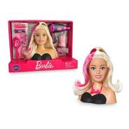 Barbie Busto P Pentear C Secador E Acessórios Cabeleireira