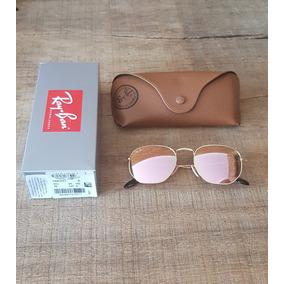 Oculos Rayban Rose Espelhado Redondo - Óculos no Mercado Livre Brasil b6ad7c7f34