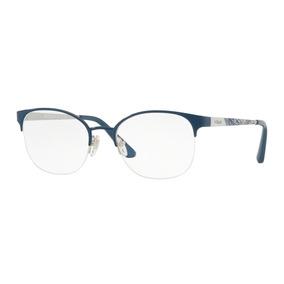 Óculos De Grau Vogue Vo4071l 5070 52 Prata azul cc61d01f48