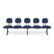 Longarinas E Cadeiras Para Igrejas - 5 Lugares Injetada 12 X