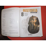 Historia Universal 8vo Grado - Editorial Santillana