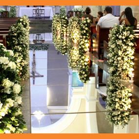 Passarela Tapete Passadeira Acrilico Espelhado - Casamento