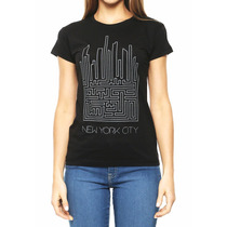 Playera Dama Ambulante New York