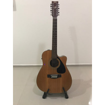 Guitarra 12 Cuerdas Electroacustica Yamaha Fgx412c-12