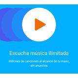 Tarjeta De Regalo Play Music 3 Meses