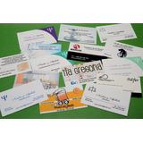 100 Tarjetas Personales Comerciales Profesionales Imprenta