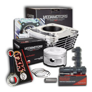 Kit Super Potencia Twister/tornado-250 P/293cc+comando Wgk