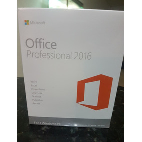 Office Professional 2016 Original Caja