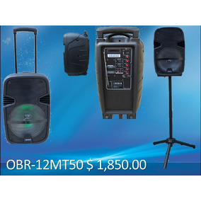 Bafle Amplificado Orbix 12 Pulgadas 3600w Recargable Tripie