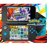 *nintendo New 2ds Xl W Turqueza + 32gb Pokemon Ultra Luna *
