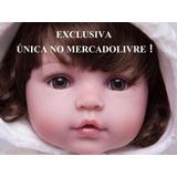 Boneca Bebe Reborn 55cm Pronta Entrega Única No Mercadolivre