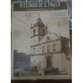 Estado De S.paulo, Suplemento Em Rotogravura N°247-1944.