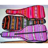 Fundas De Aguayo Boliviano Para Guitarra Criolla-vario Color