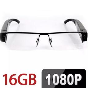 Óculos Espião 1080p Full Hd Câmera Filmadora Espiã Hdmi 16gb