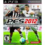 Pes 2o12 Pro Evolution Soccer Ps3 Físico Original Sellado