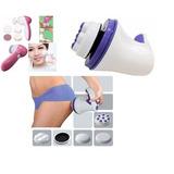 Kit Escova Elétrica Limpeza Facial + Massageador 110v