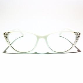 Armação Gatinha Feminina Mulher Óculos Lentes De Grau Y013