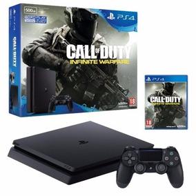 Playstation 4 500gb Slim Call Of Duty Con115