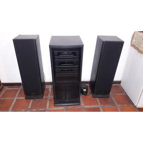 Equipo Audio Technics Sb-am 900 Con Rack Original