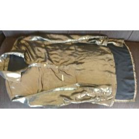 Camisa Feminina Chiffon Metalizado M