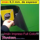 Rollo Plancha De Imán 0,62x1mts Flexible Publicidad Ploteos