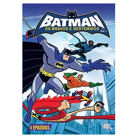 Dvd Batman - Os Bravos E Destemidos Volume 1