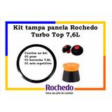 Kit Tampa Panela De Pressão Rochedo Turbo Top 7,6 Litros