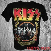Camiseta De Banda Kiss Promoção Barato Black Friday