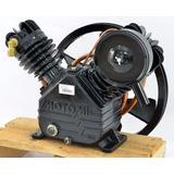 Unidade Cabeçote Compressor 20 Pés Com Filtro De Ar E Polia