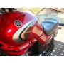 Tanque Combustível Moto Ybr125+kit Carenagens Vermelho Novo