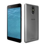 Celular Tecno Mobile Wx3f Ram 1gb 5 Pulg Gris Con Huella 4g