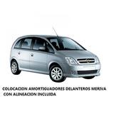 Colocacion Amortiguadores Delanteros Chevrolet Meriva C/alin