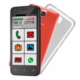 Smartphone Ms45s Senior 3g Tela 4,5 Dual Camera 5.0mp + 3.0
