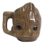 Caneca 3d Baby Groot Marvel Vingadores - Envio Imediato