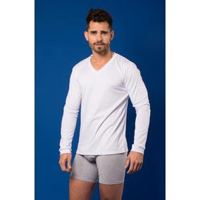 e5c89d52 Camisetas Hombres Cuello V - Ropa y Accesorios Blanco en Mercado ...