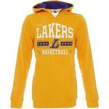 Sudadera Con Gorro Nba Basquetbol Lakers Niño adidas Ax7767
