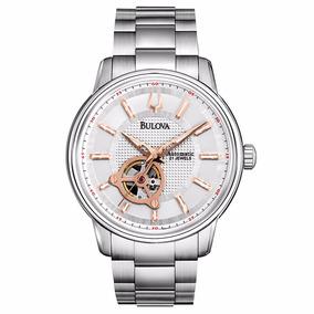 3a6c2dbcae7 Relógio Bulova Automatic 21 Jewels Wb22088q 96a143