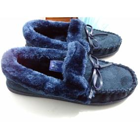 Zapatos Color Azul Talla 23 Dama Marca Shosh Confort