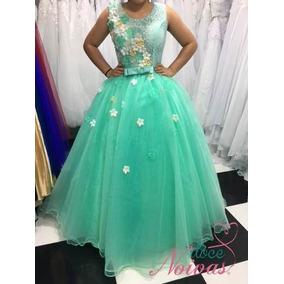 e43934443c4c9 Vestido Debutante Tiffany 2 Em 1 - Calçados, Roupas e Bolsas no ...
