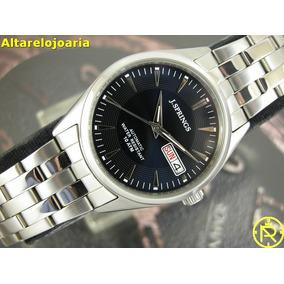 Relógio J.springs Masculino Aço Inoxidável Fundo Azul Beb026