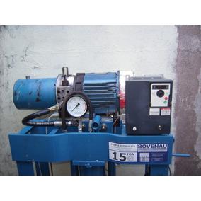 Prensa Eletrica Hidráulica Automatica 15ton 220v Monofasico