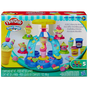 Massinha Playdoh - Sorveteria Divertida - Hasbro