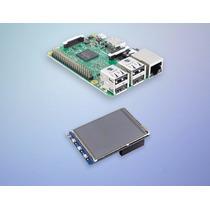 Kit Raspberry Pi3 Pi 3 Com Tela Touch Lcd 3.2 Polegadas
