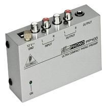 Pre Amplificador Phono Ultra Behringer Modelo Pp400